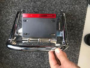 harley davidson flh tour pack bracket support fixed 2010 a 2013