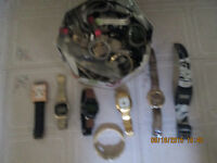Mens  Ladies and childrens watches