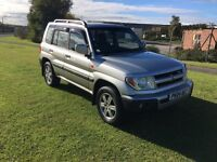 04 REG MITSUBISHI SHOGUN PININ 2.0 GDi WARRIOR 5DR-2 KEYS-FULL HISTORY-LEATHER-REALLY TIDY-GREAT 4X4