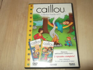 dvd caillou collection famille vol. 3