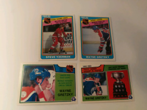 Carte Hockey 1982-84 Yzerman Gretzky