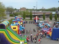 Inflatable bouncer and carnival games for rent