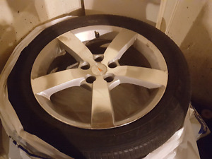 All seasons225/50/18 tires and rims no reasonable offer refused