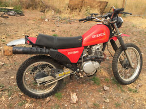Awesome 1986 Suzuki 250cc Dirtbike