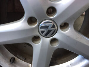 "Volkswagen 17"" rims c/w all season tires"
