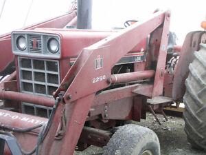 1980s I.H. Model 684 diesel tractor