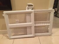 White Baby Gate $20, Never Been Used