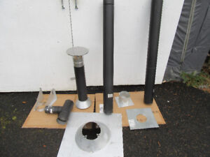 Pellet Stove Installation Kit and Piping