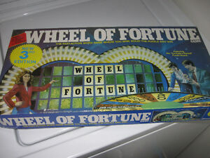 Wheel of Fortune game 100% complete. Excellent condition. Cornwall Ontario image 2