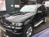 BMW X5 3.0 SPORT 24V Black Automatic Petrol 2005 (05)