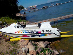 small jet boat