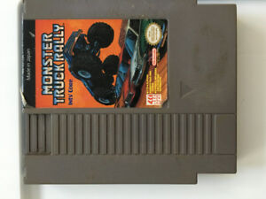 NES Monster Truck Rally Nintendo