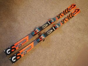 Volkl Speedwall GS UVO 175 cm with RMotion 16 bindings
