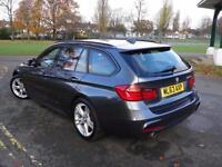 BMW 3 SERIES 320D BLUEPERFORMANCE M SPORT TOURING [START/STOP] 2013/63