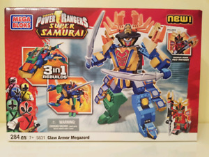 Kids toys. Brand new in the box. Power rangers Samurai