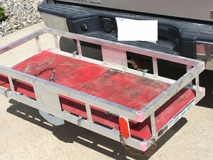 Aluminum Cargo Carrier for Truck Hitch