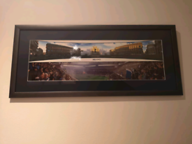 Framed Milan picture