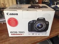 Canon 700D kit with EF-S 18-55 IS STM LENS