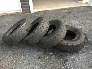 31x10.50R15 LT All Terrain Tires (4)