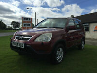 04 Honda CR-V 2.0 i-VTEC auto SE Sport fsh 11 stamps full mot very clean car