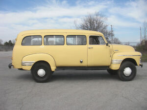 1954 Chevrolet Suburban Coleman 4x4 Interesting Trade Considered