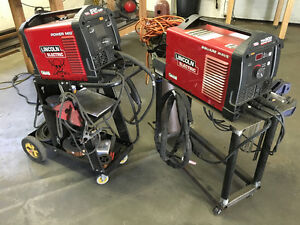 Lincoln Power Mig 210 & Lincoln Square Wave Tig 200