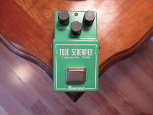 TS808 Ibanez tube screamer! Missing battery cover