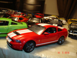 Ford Mustang Shelby GT 500 2010 diecast 1/18 die cast