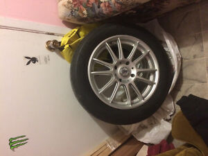 Summer Tires And Rims!!