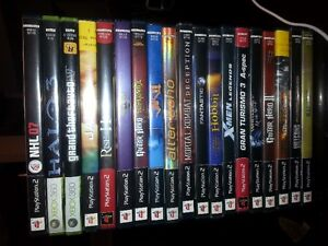 Lot of PS2 games/xbox 360 games