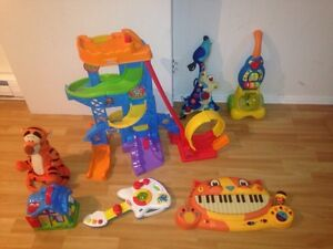 Jouets toys - piano truck camion guitare