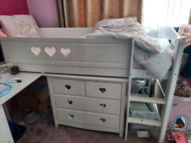 Child bedset with storage