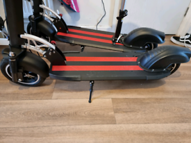 ert-010 electric scooter black/red
