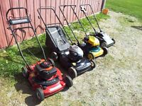 Recycling lawnmowers