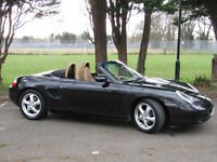 Porsche Boxster 2.5 Covertible**FSH**Cream Leather**New Roof**Facelifted**