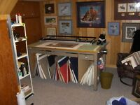 HOME BASED PICTURE FRAMING EQUIPMENT AND INVENTORY