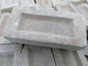 Old Yellow Reclaimed Phipphen Bricks