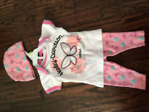 3-6 months Harley Davidson outfit