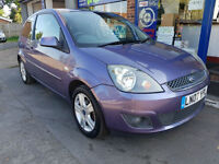 2007 FORD FIESTA 1.25 ZETEC CLIMATE MOT APRIL 2018 86K