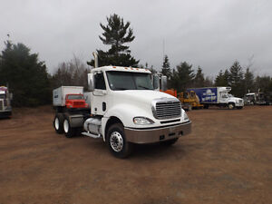 2007 COLUMBIA DAY CAB HEAVY SPEC