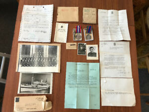 WW2 WWII Canadian Military medals Photos Wounded