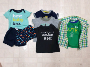 Boys summer size 3 months