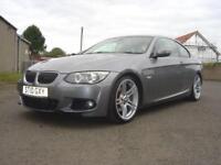2010 10 BMW 3 SERIES 3.0 330D M SPORT 2D 242 BHP DIESEL