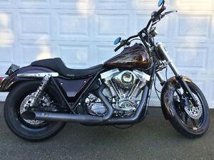 Harley Davidson custom FXR
