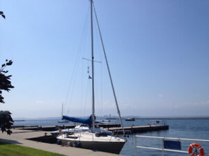 Edel 820 sailboat with Aft cabin