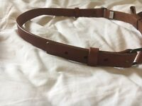 Real leather Jack Wills belt