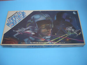STAR WARS THE ULTIMATE SPACE ADVENTURE GAME 1982 (NOT COMPLETE)