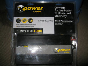1000 WATT INVERTER 2000 WATTS PEAK XPOWER BY XANTREX & INSTALL