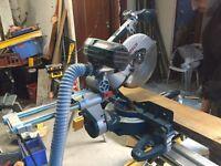 BOSCH GCM 10 SD 254MM DOUBLE-BEVEL SLIDING MITRE SAW 110V Circular Chop Saw