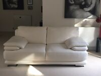 Leather Sofas 2x 2 seaters and 1 x 3 seater